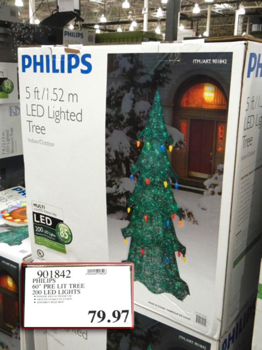 This Lighted Tree is selling for $180.00 on eBay after the sellers $20 discount.