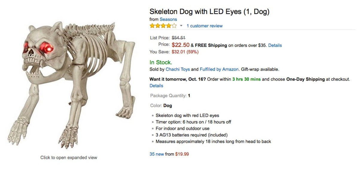You can see that Costco shoppers are already offering this dog on Amazon.com at $19.99 Better to hold yours until next year and sell it.