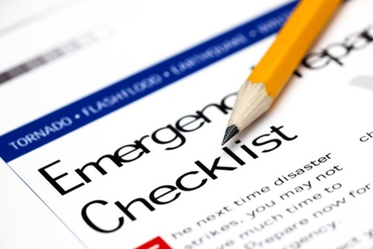 Keep paper based checklists for when the power goes out.