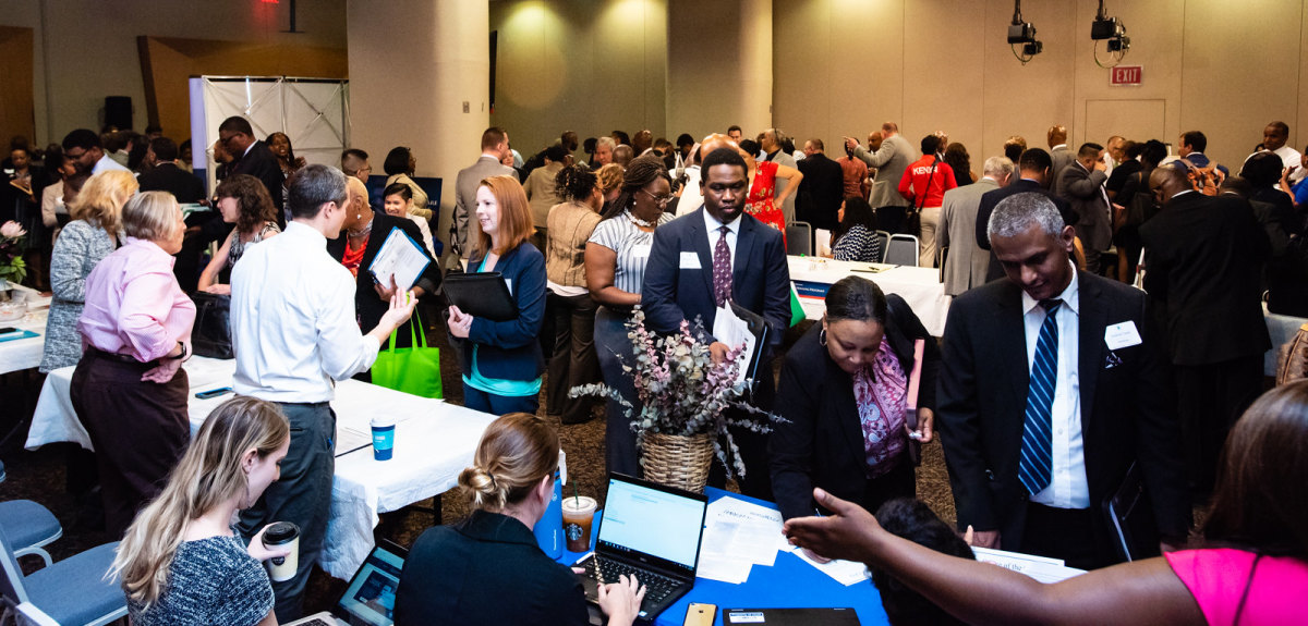 Attending a job fair or career club meeting counts as one job search toward your weekly quota.