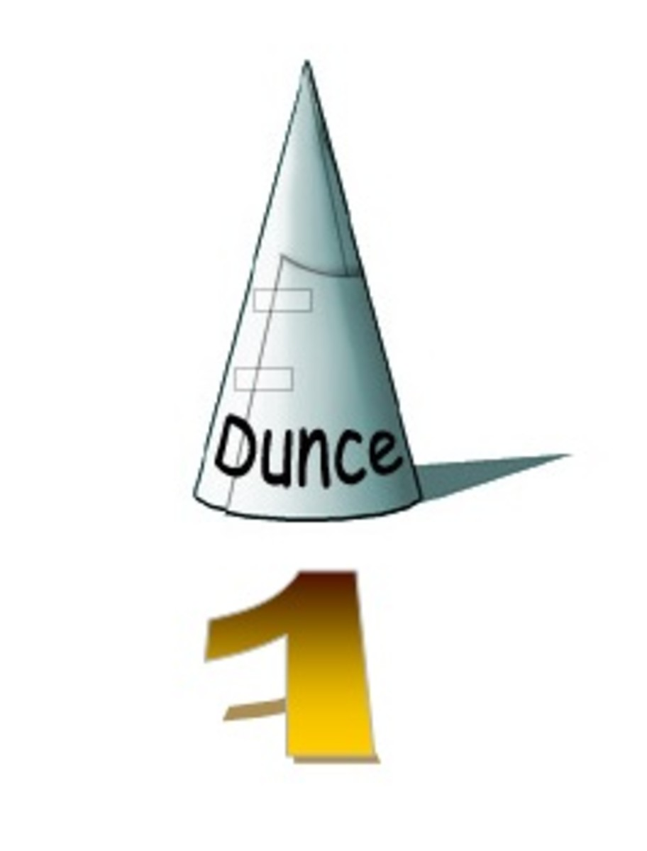Survival Kit Item 1 - Dunce Cap.  Wear only in the presence of your superiors to enhance the impression that you are a non-threatening buffoon.