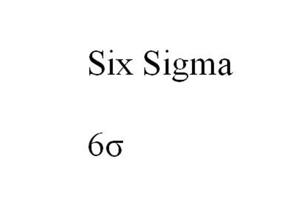 Six Sigma Standards