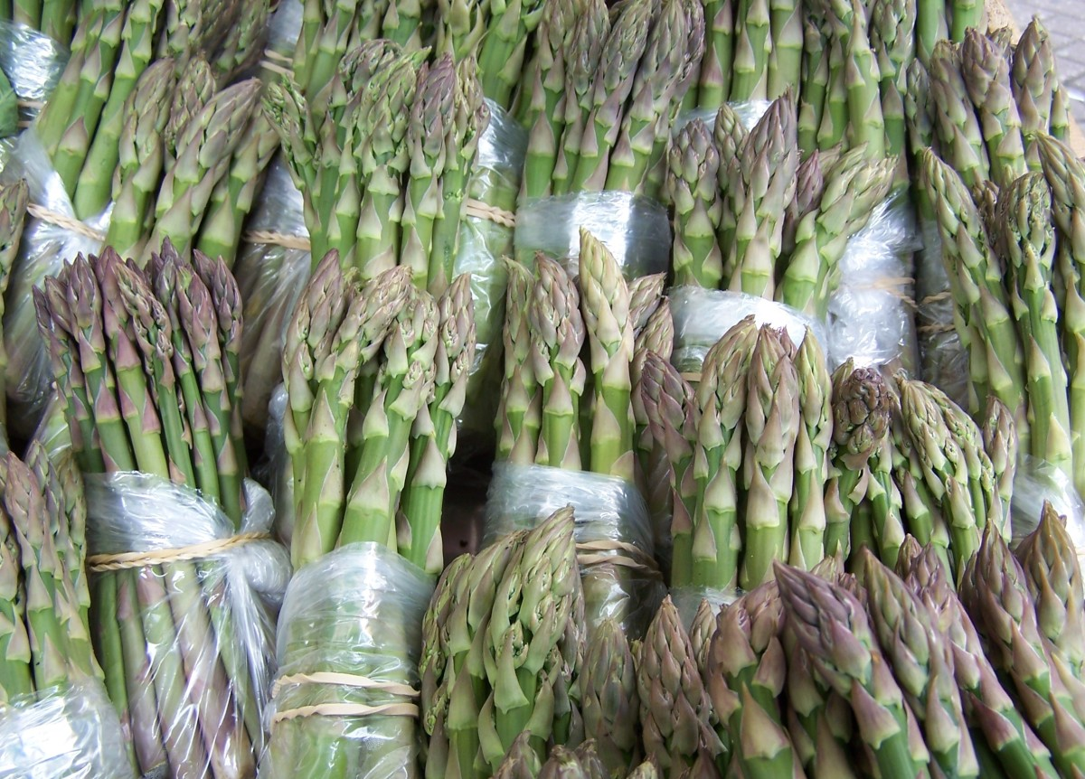 Best Selling Products for market Stalls: Fresh Vegetables, English Asparagus