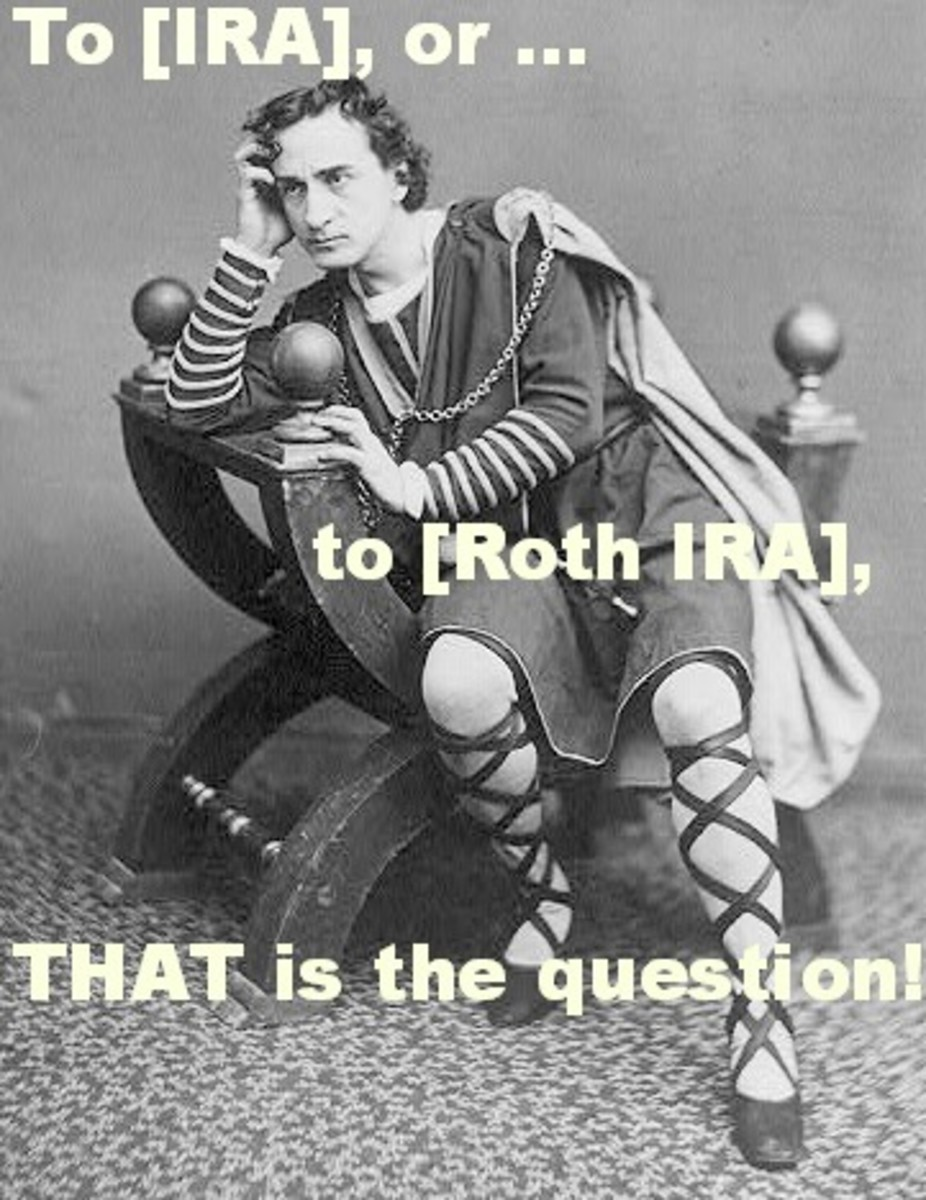 Edwin Booth, as quoted during a production of the lesser known — though, arguably just as important — Shakespearean masterpiece: Hamlet ... on Wall Street!