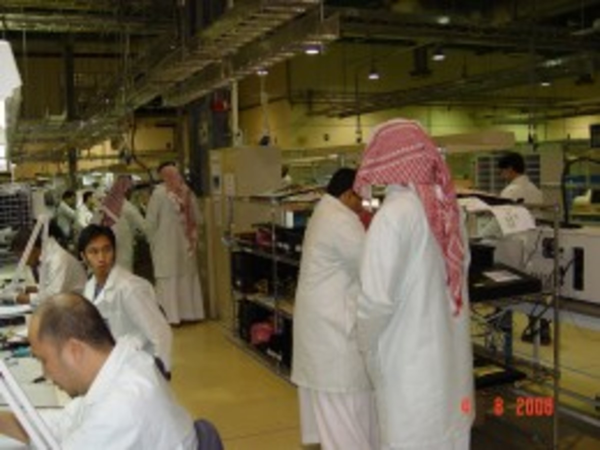Work in Saudi Arabia