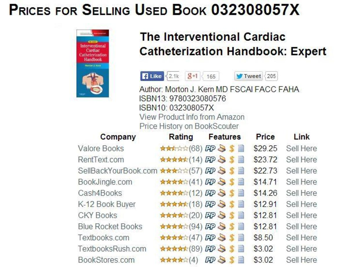 Bookscouter: Find the Best Price to Sell Your Textbook Online