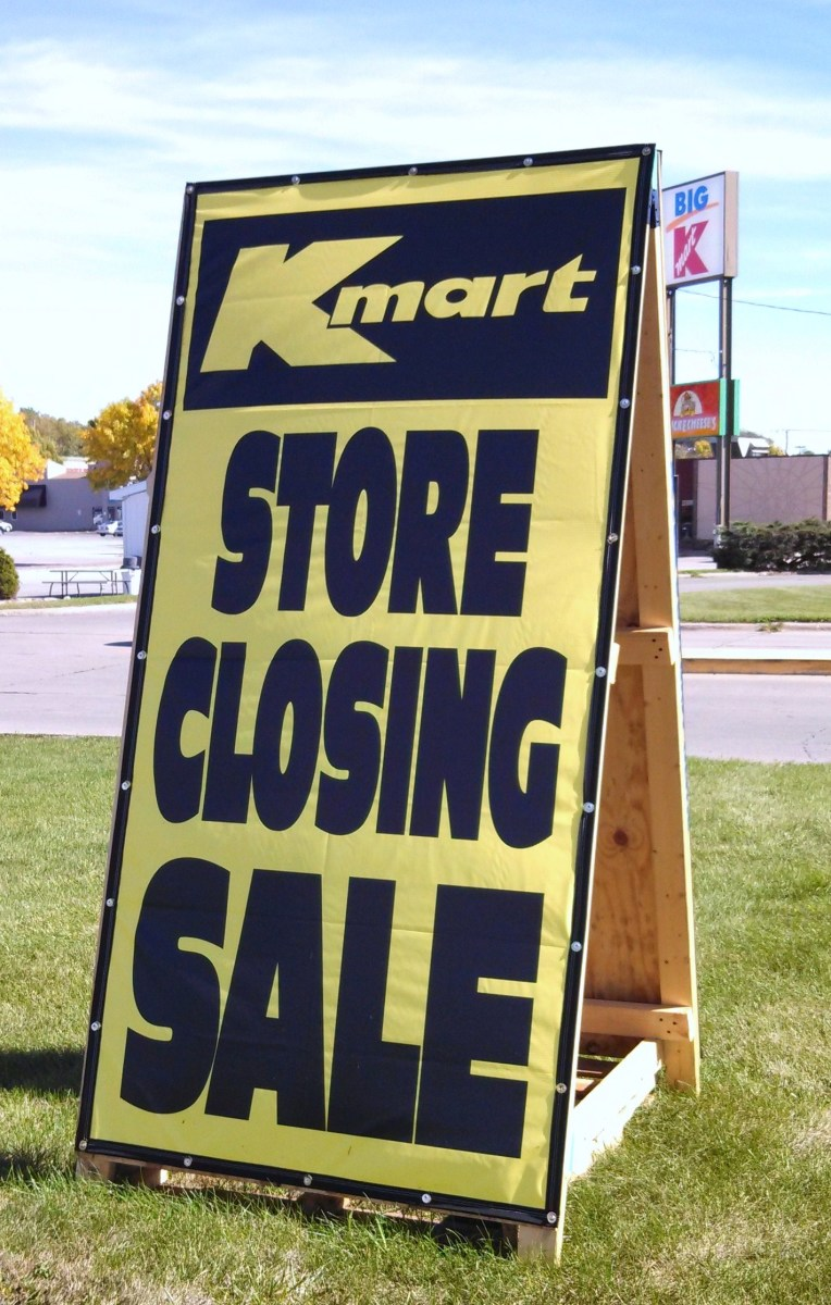 Kmart Store Closing Sale
