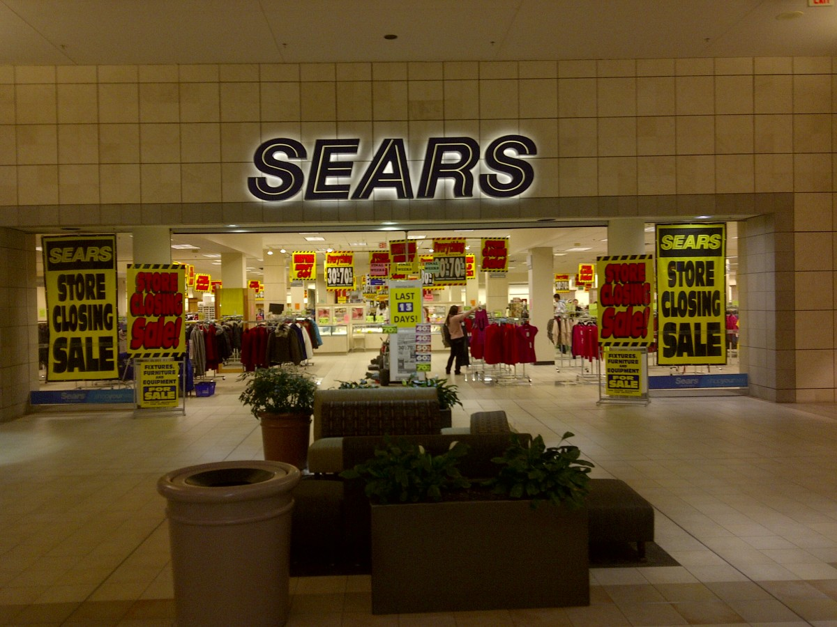 Sears Store Closing Sale