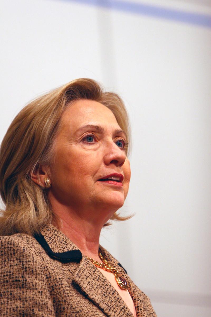 Secretary of State Hillary Clinton in Munich in 2011.