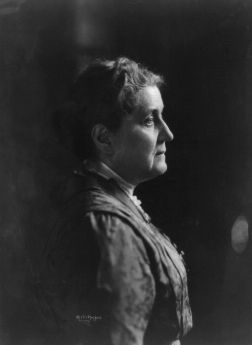 Jane Addams in 1914