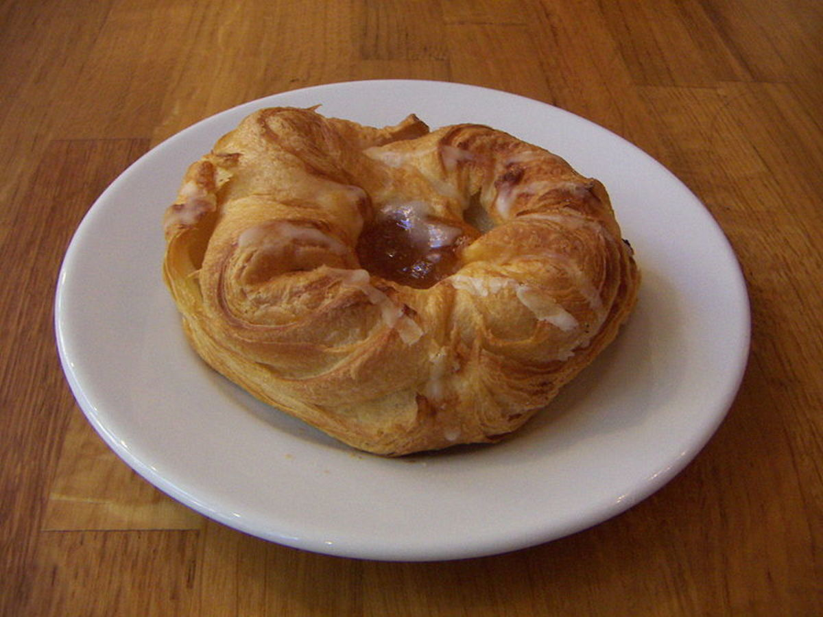 A Swedish wienerbröd, a Danish pastry. http://en.wikipedia.org/wiki/GNU_Free_Documentation_License