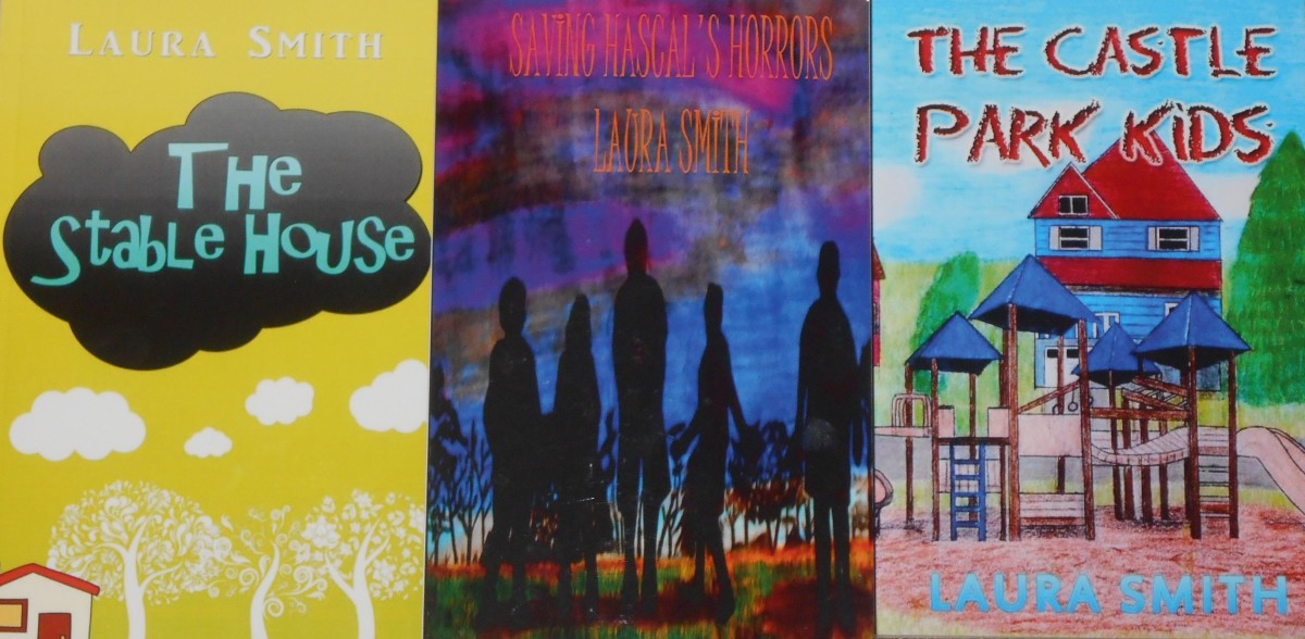 My book covers.