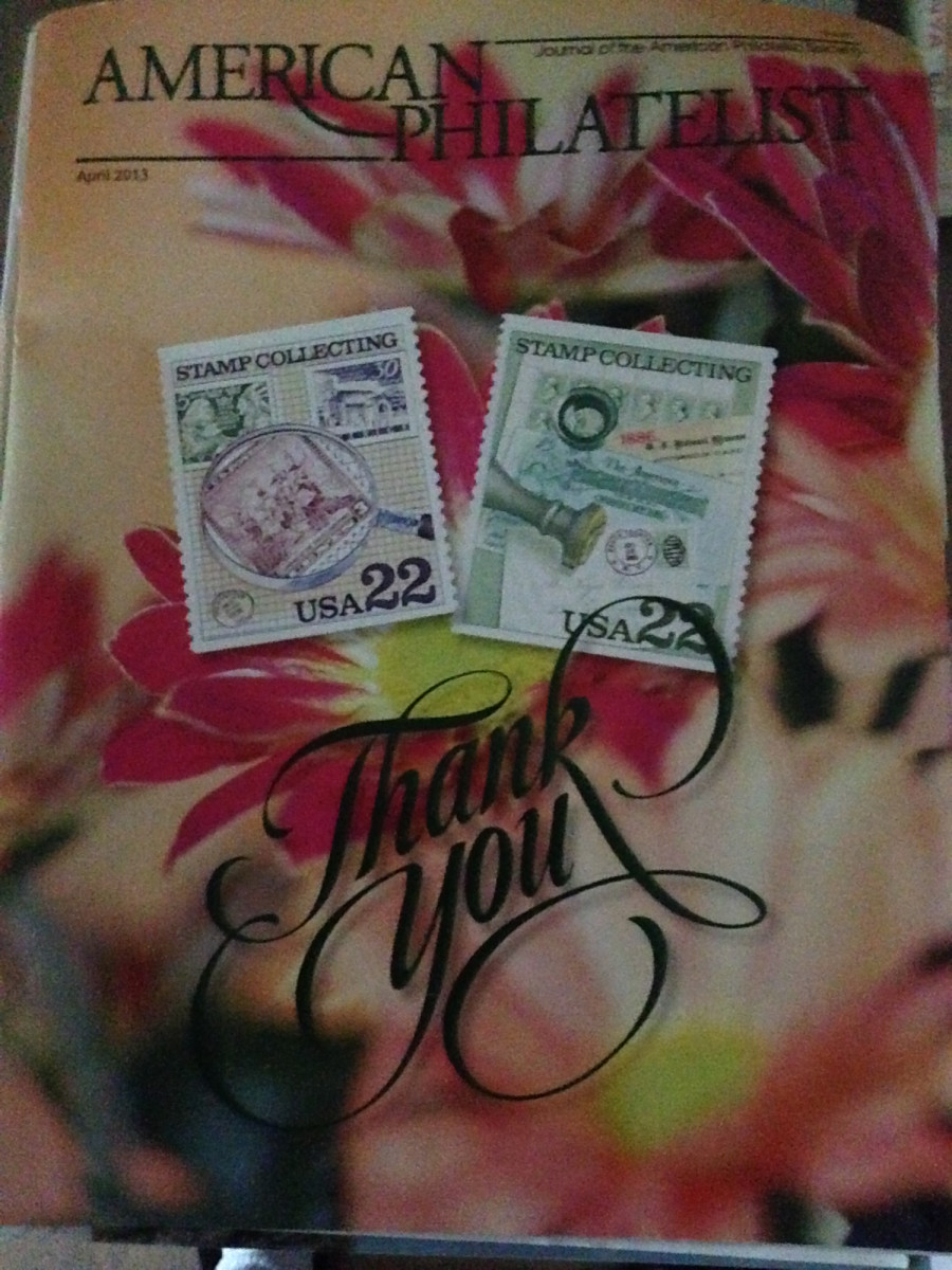 """The """"American Philatelist"""" is the monthly publication of the American Philatelic Society.  You must be a member to advertise."""