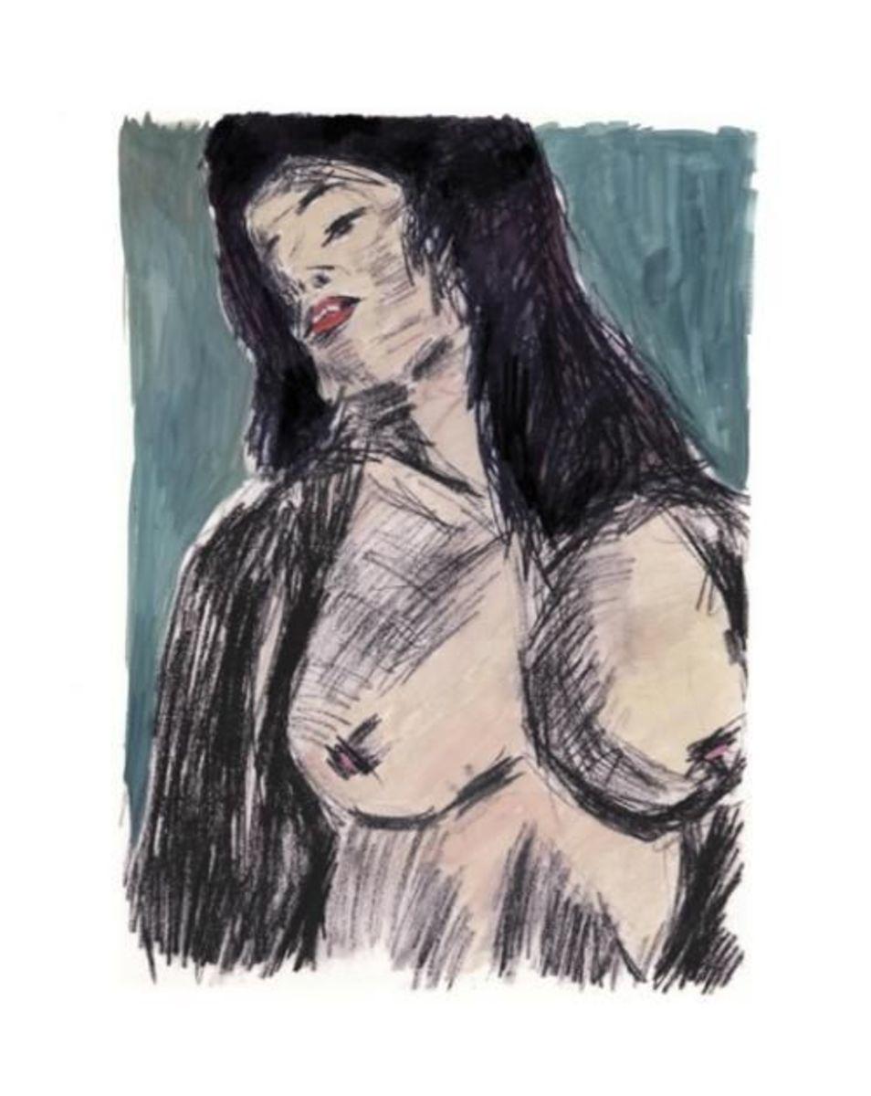 Cassandra, one of Dylan's popular prints