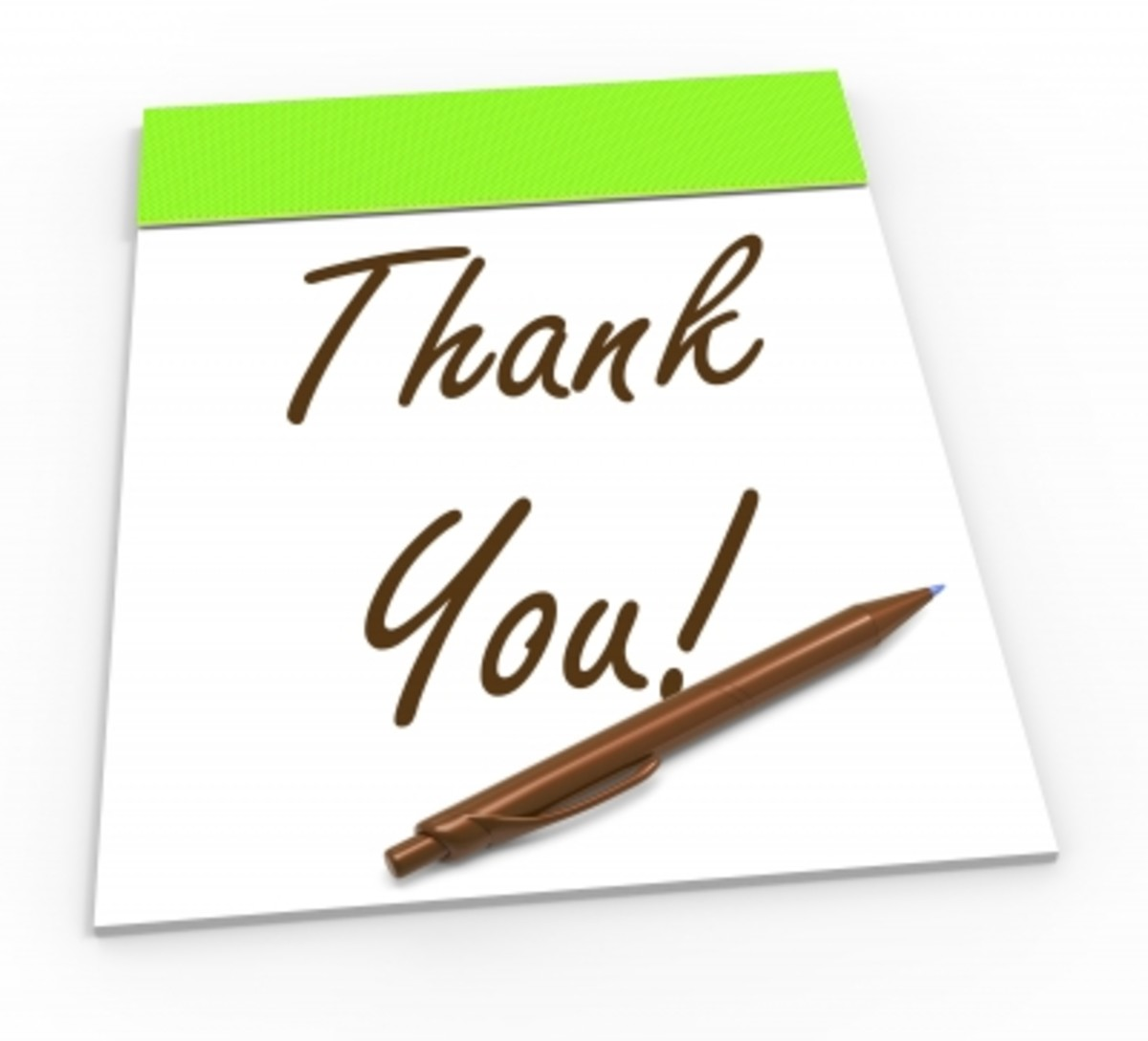 "Don't underestimate how important a ""thank you"" card is."