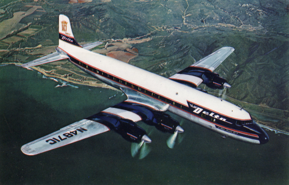 DC8 in Delta Livery