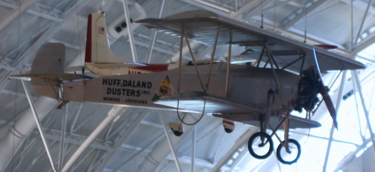 Huff-Daland Duster Used by Delta