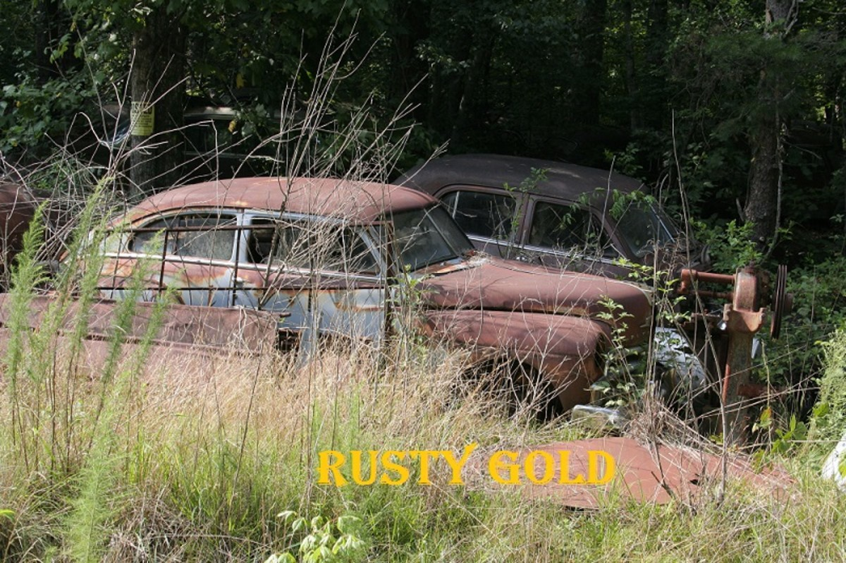 """""""Rusty gold"""" refers to old objects that appear to be in dire condition but are actually worth something due to their historical or cultural significance."""