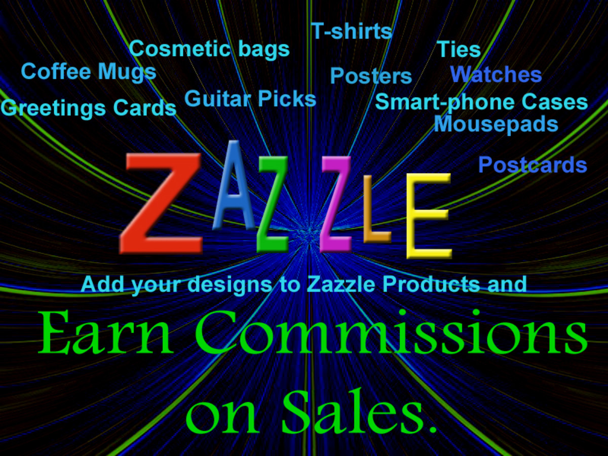 Zazzle - Earn Commissions on your designs