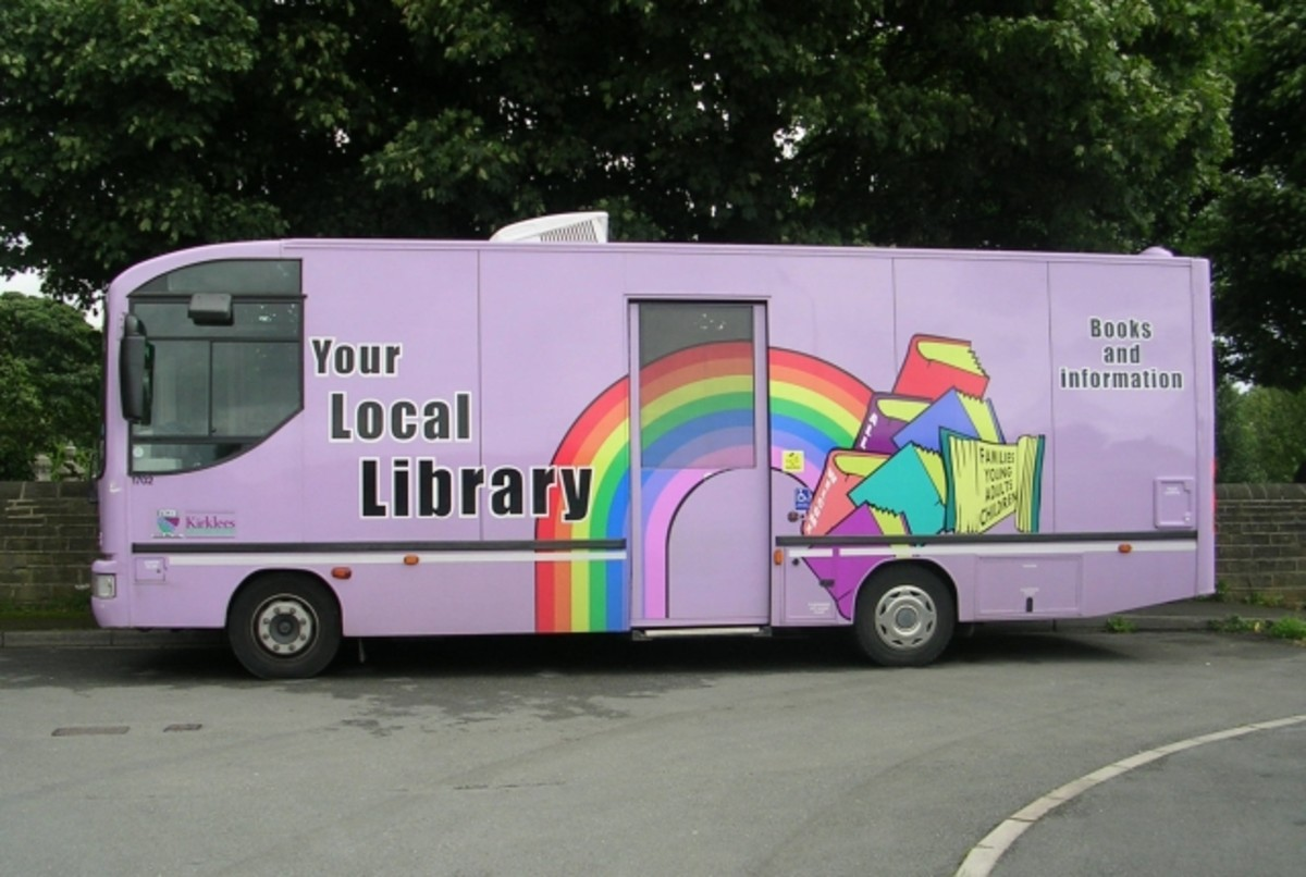 Take your library to the streets!