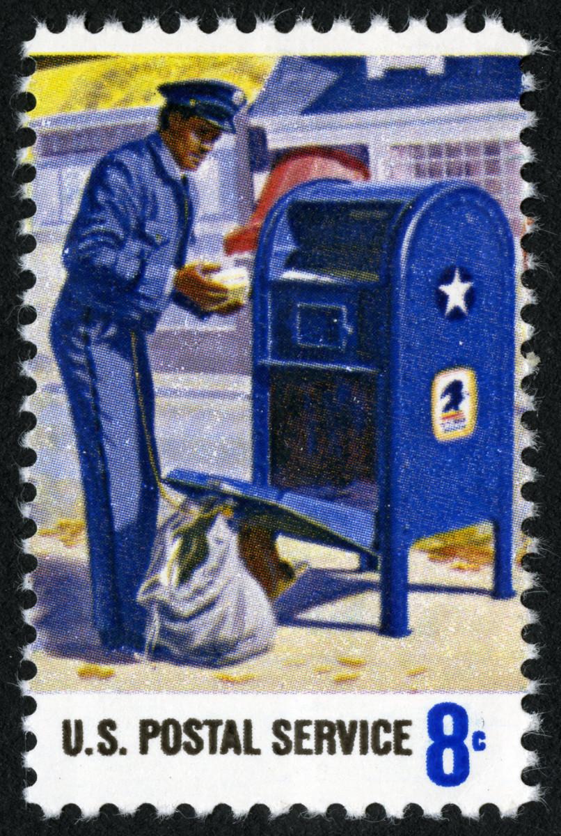 Vintage USPS Stamp