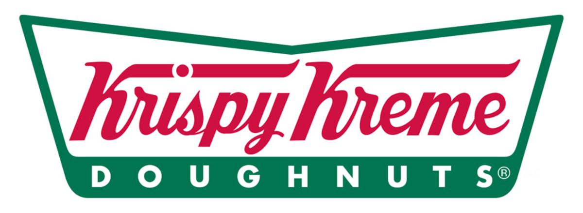 Logo belongs to Krispy Kreme.