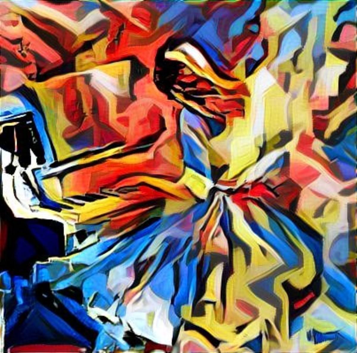 Sound Waves: Original Art by Gina Welds Hulse
