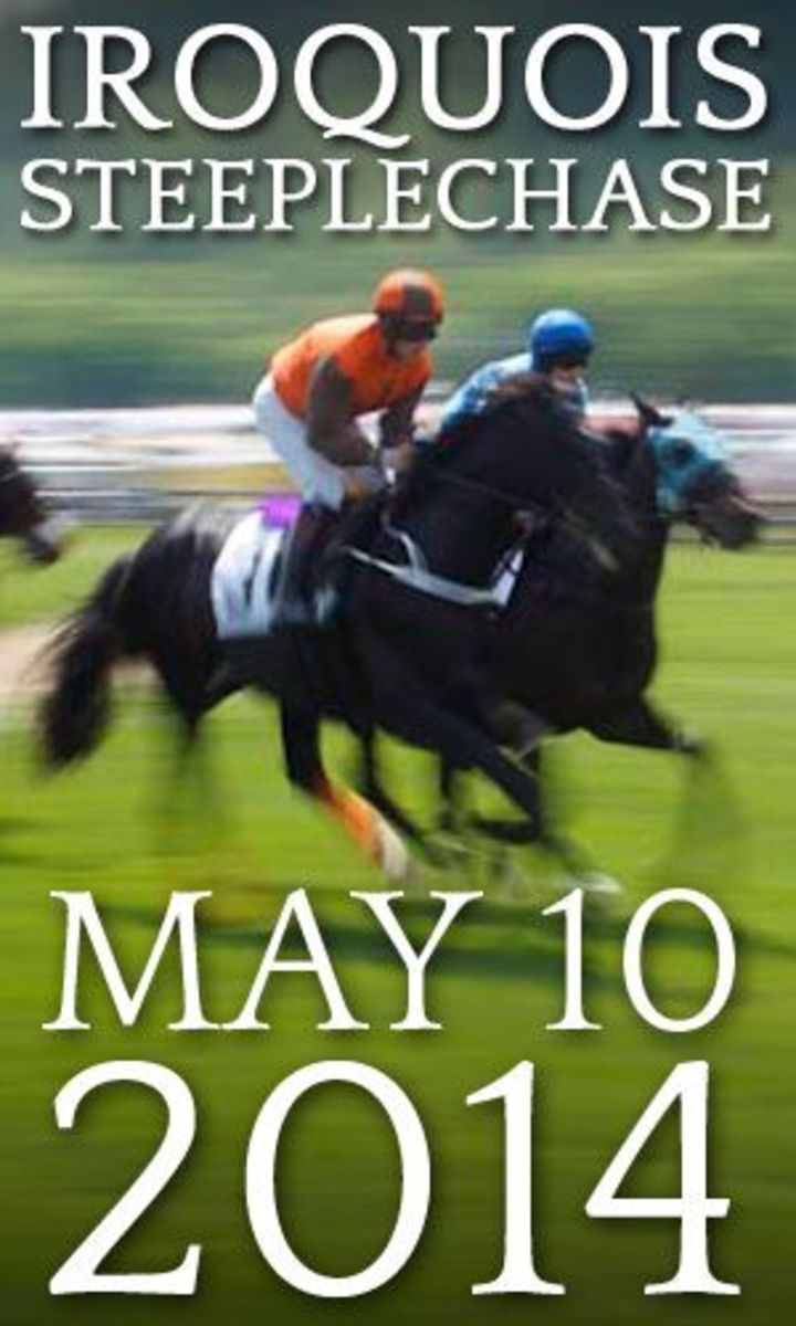 Web elements for the Iroquois Steeplechase, 2014.