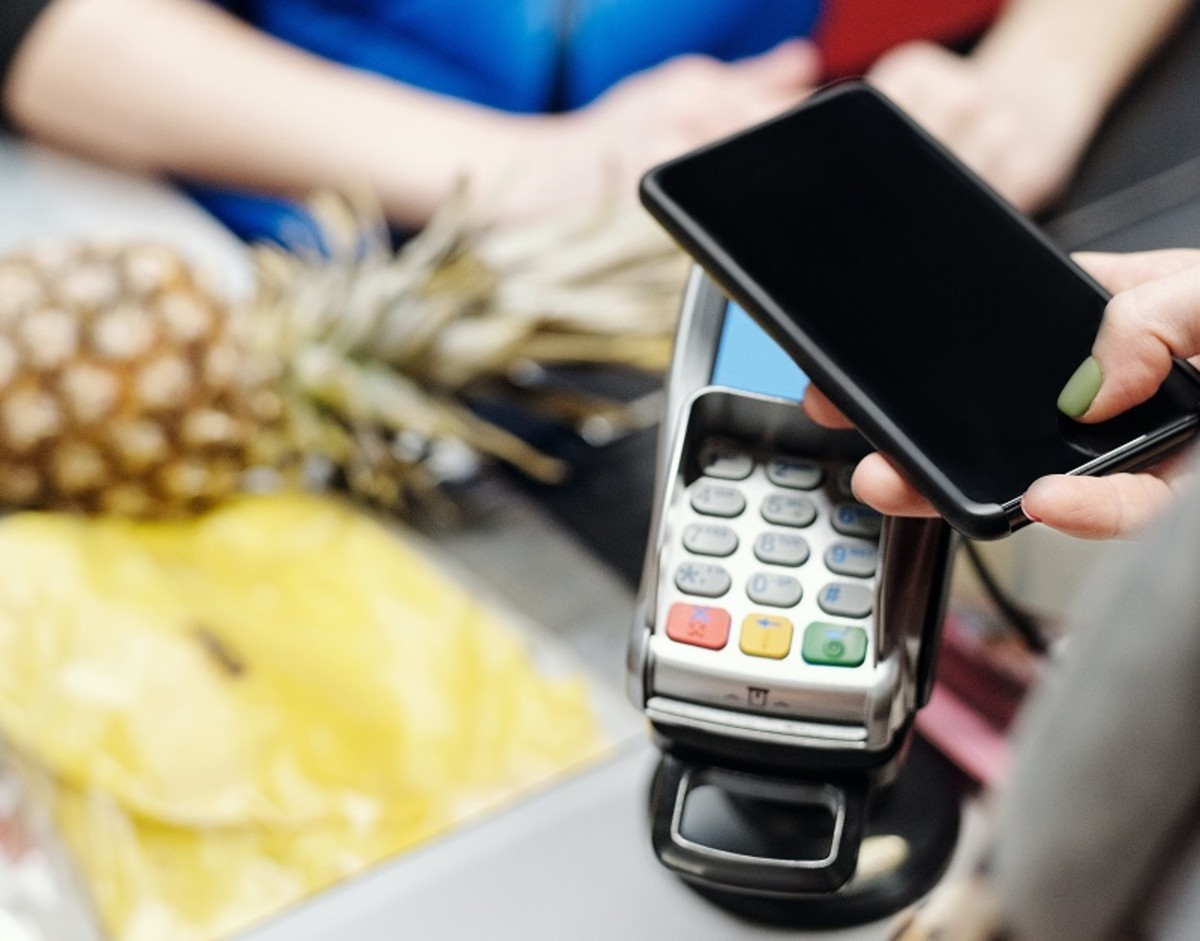 Banking online means you can use your smartphone for contactless payments.
