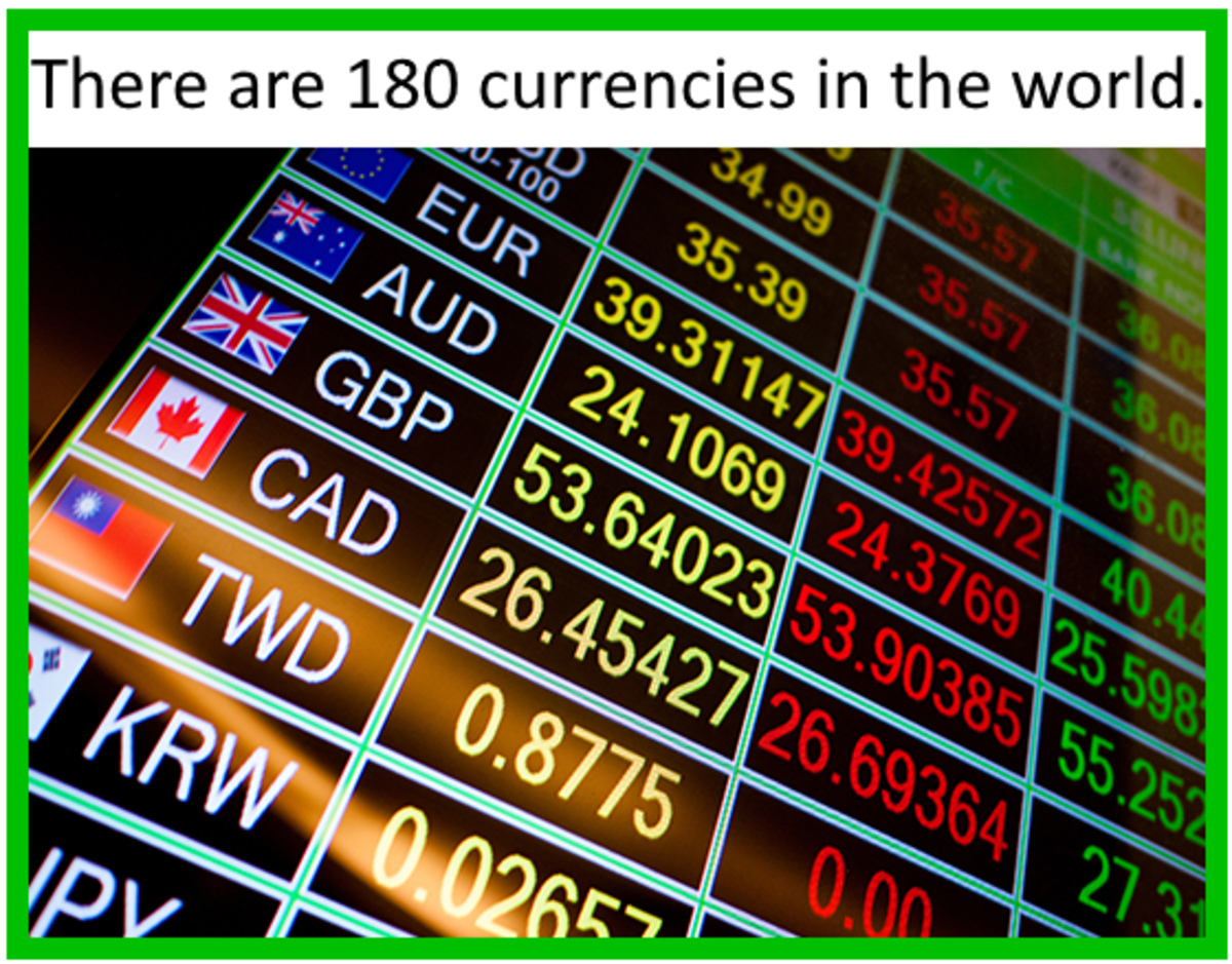 There are 180 currencies in the world, and some are more equal than others.