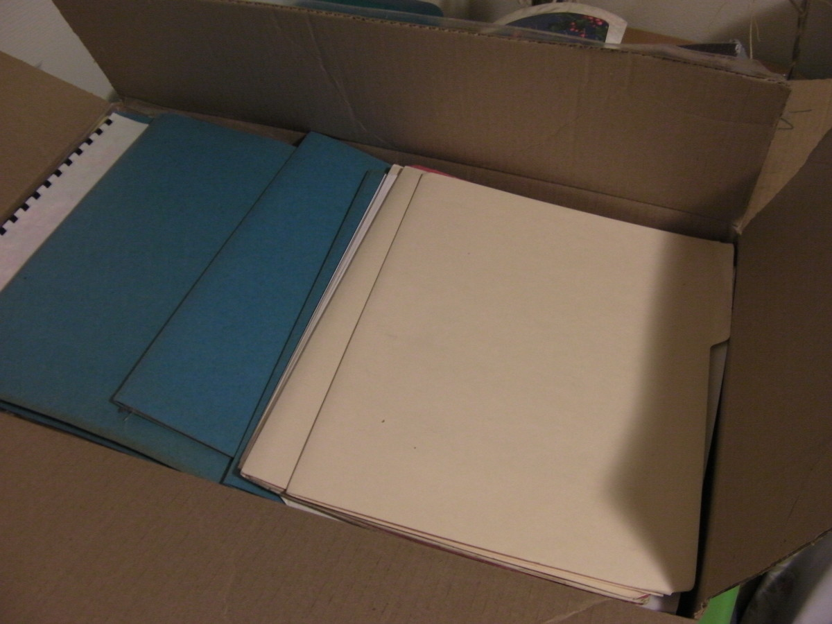 Goodbye to Old Files and Paper Clutter