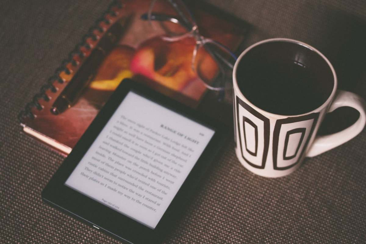 An e-book reader.