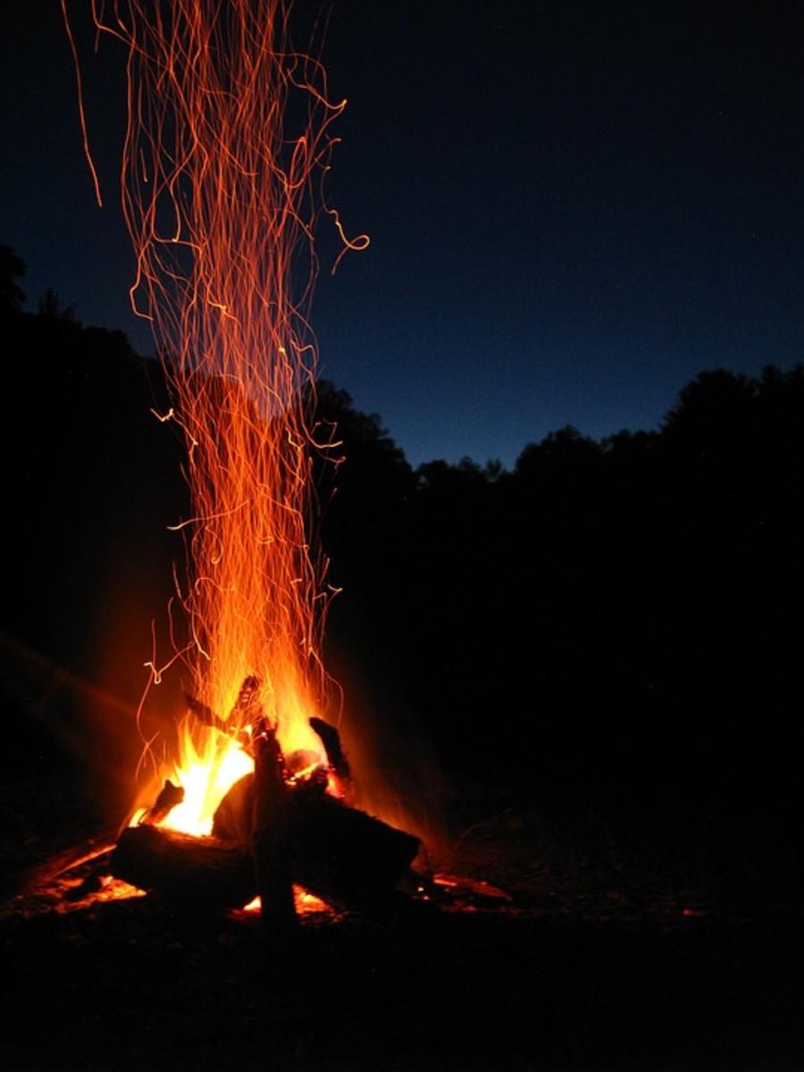 Campfire activities are very effective team-building activities.