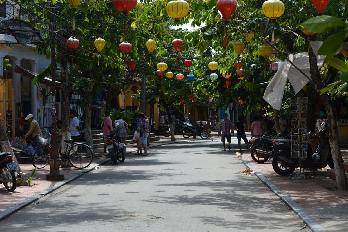 Hoi An, Vietnam is a great place to play Treasure Hunt and discover cultural values