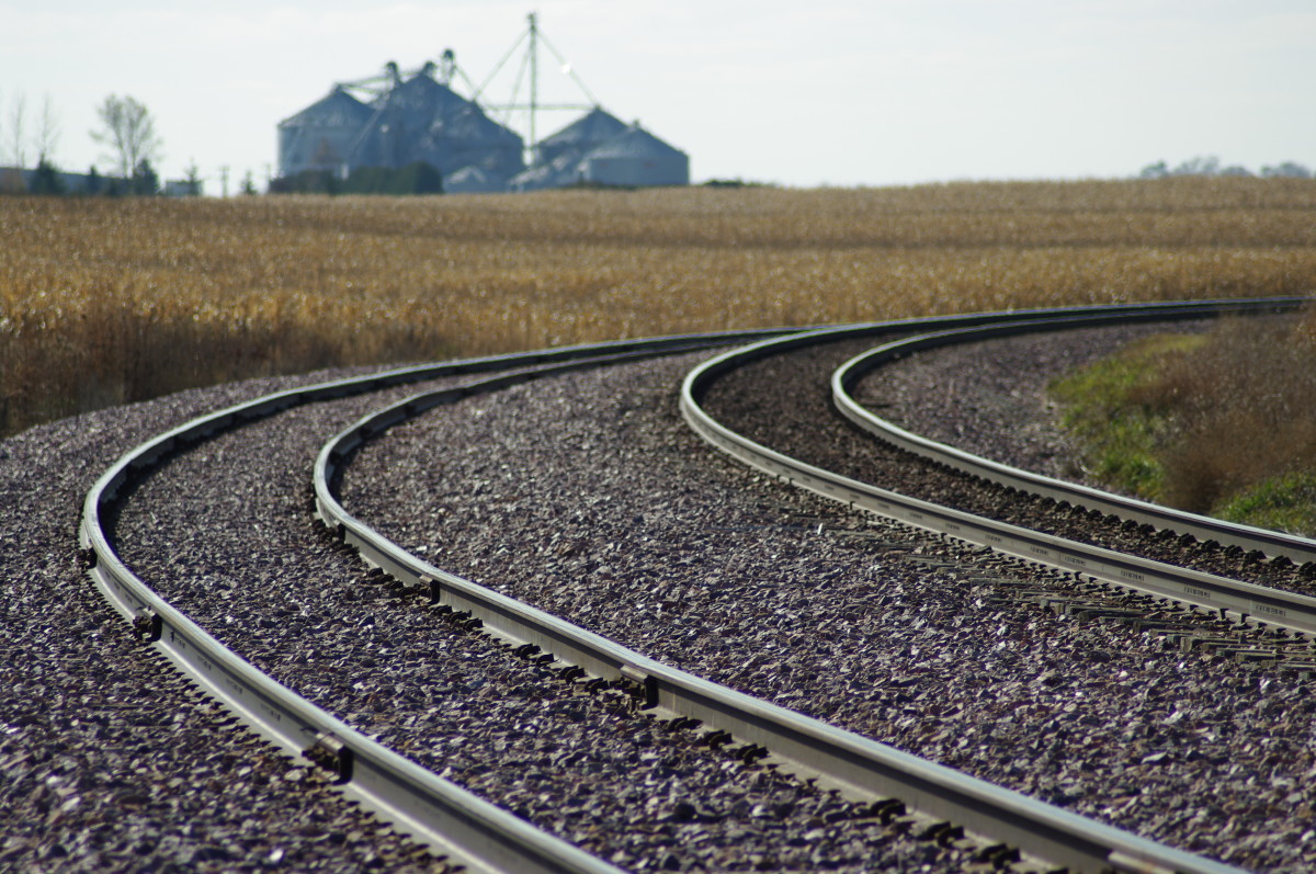 Almost the entire Great Plains wheat crop was moved in rail cars 40 years ago.