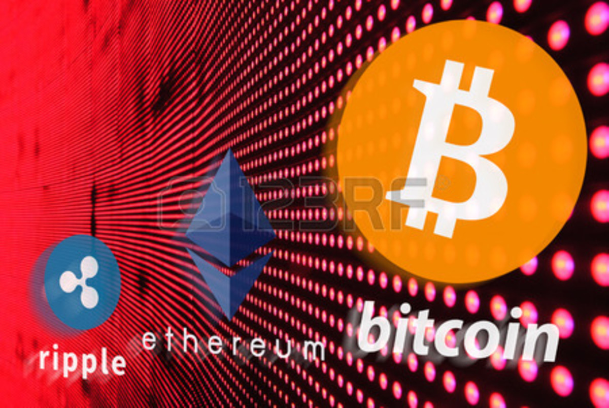 There are many alternative cryptocurrencies that are competing with Bitcoin.