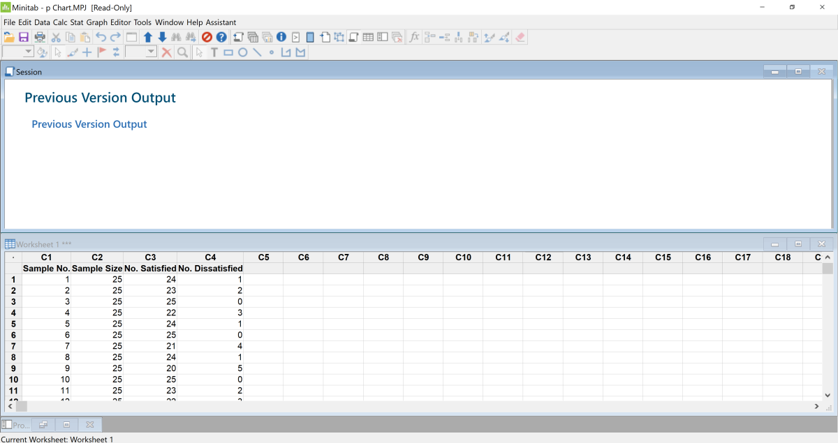 """Pasting Data to Minitab: Note that there are other ways to transfer data into Minitab. Another simple way to get data into Minitab is by opening an Excel or text file within Minitab by choosing """"file"""" then choose """"open"""" to select a file."""