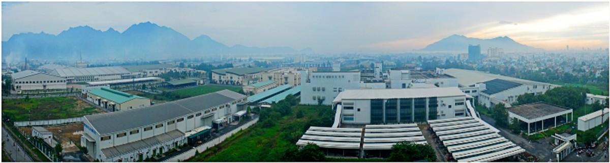 Hoa Khanh Industrial Zone in Danang.