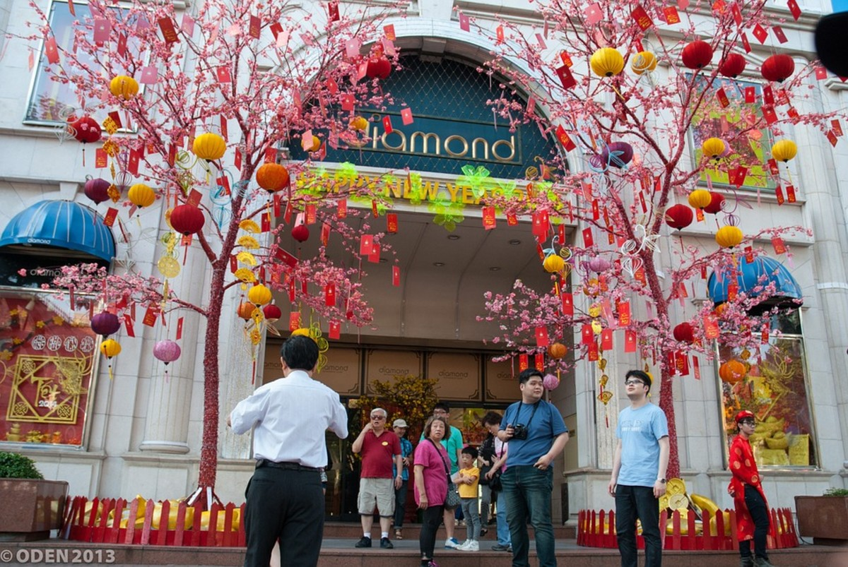 Diamond Plaza, one of the most thriving commercial centers in Ho Chi Minh City