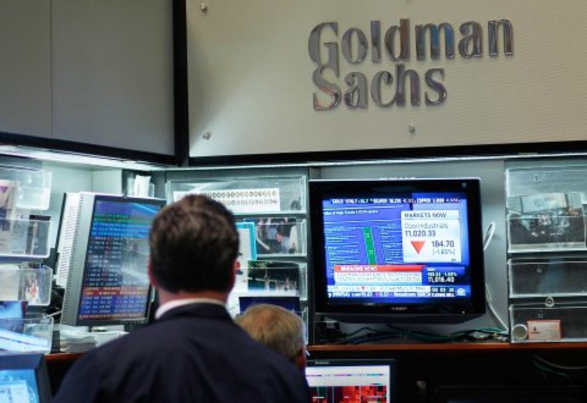 Goldman Sachs has not ruled out the idea of opening a cryptocurrency trading desk.