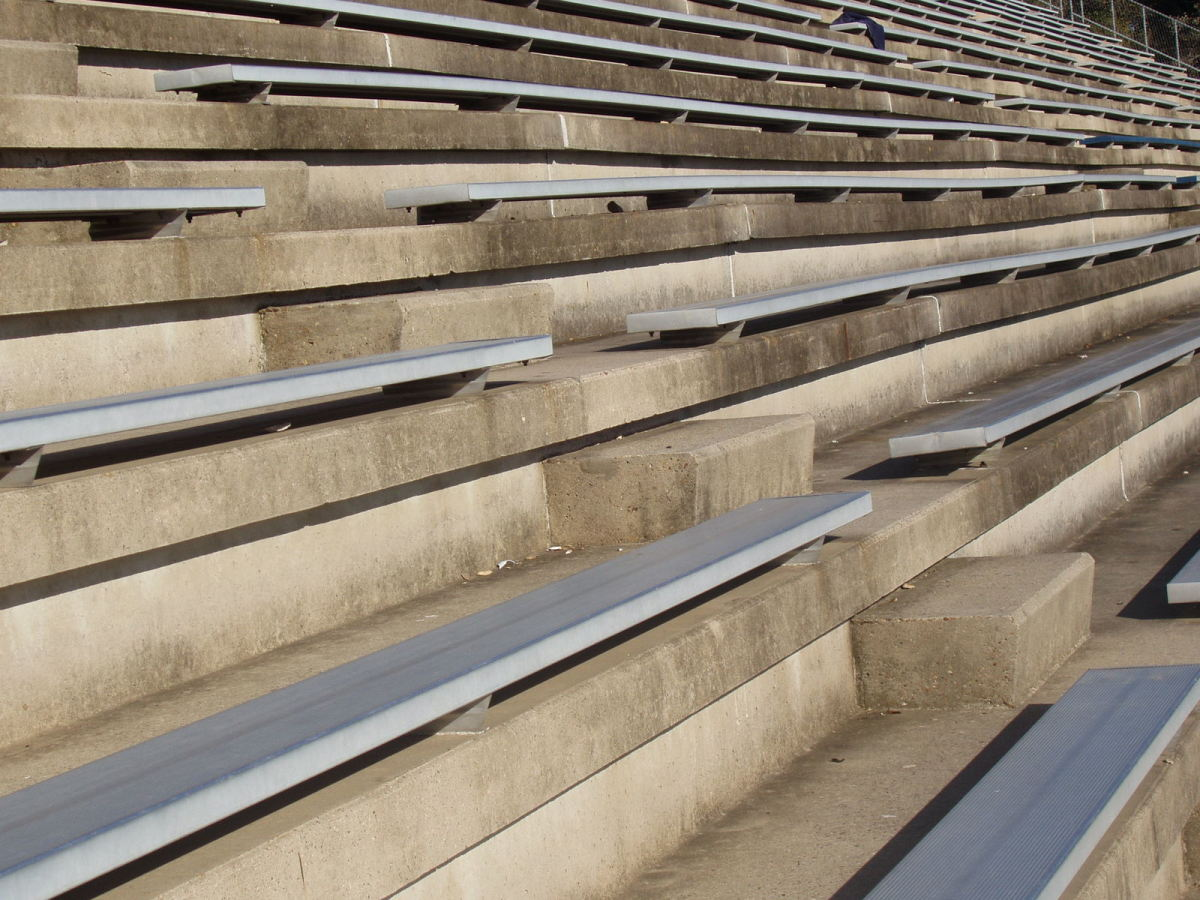 The higher up in the stands you're willing to sit, the cheaper your tickets are likely to be.