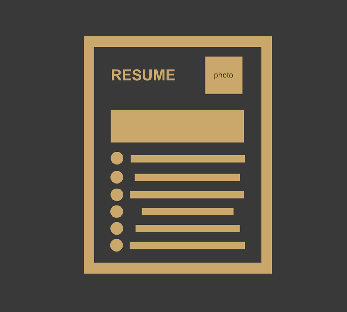There is no need to explain a gap in employment history in a resume or CV.