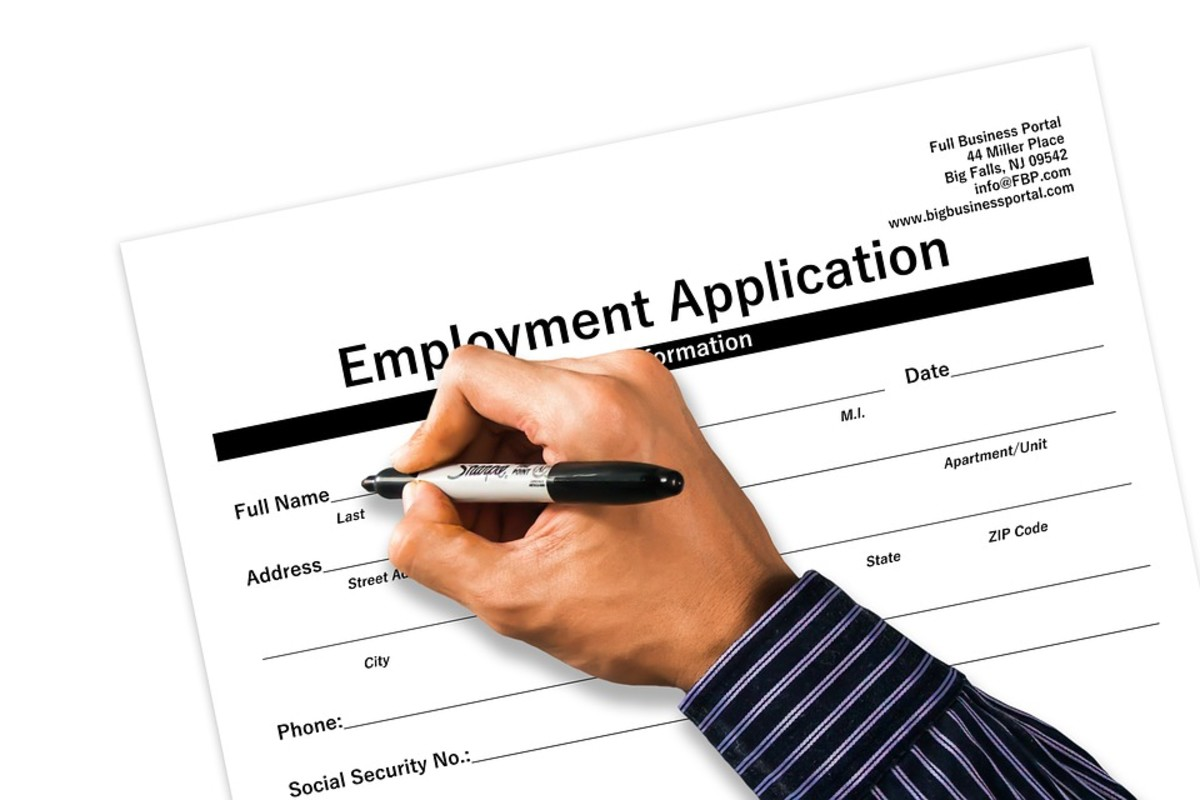 It may come up that you have to provide details why you left a job, which will allow you to address any potential gaps in employment.