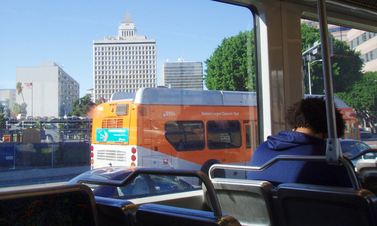 My two main modes of transportation are walking and riding buses. With them I can get almost anywhere I need to in Pasadena CA. To go to downtown Los Angeles I take the bus and then light rail.
