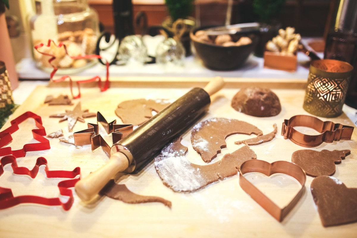 Create a Christmassy atmosphere by making things with your kids