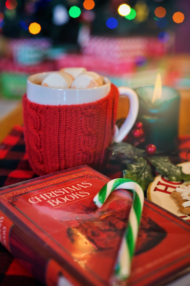 Set the scene with a cosy Christmas book