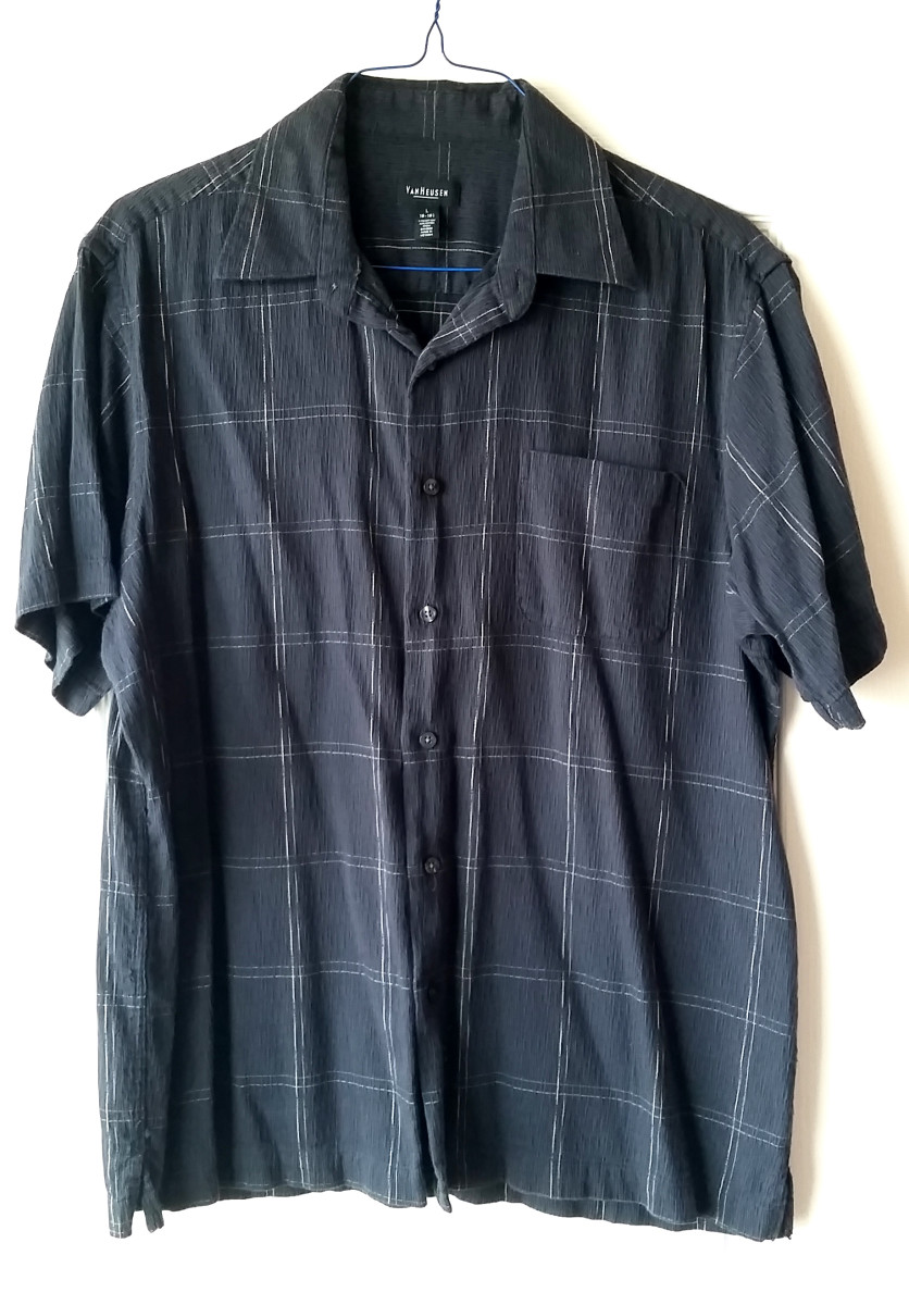 A Van Heusen shirt that I sold on eBay.