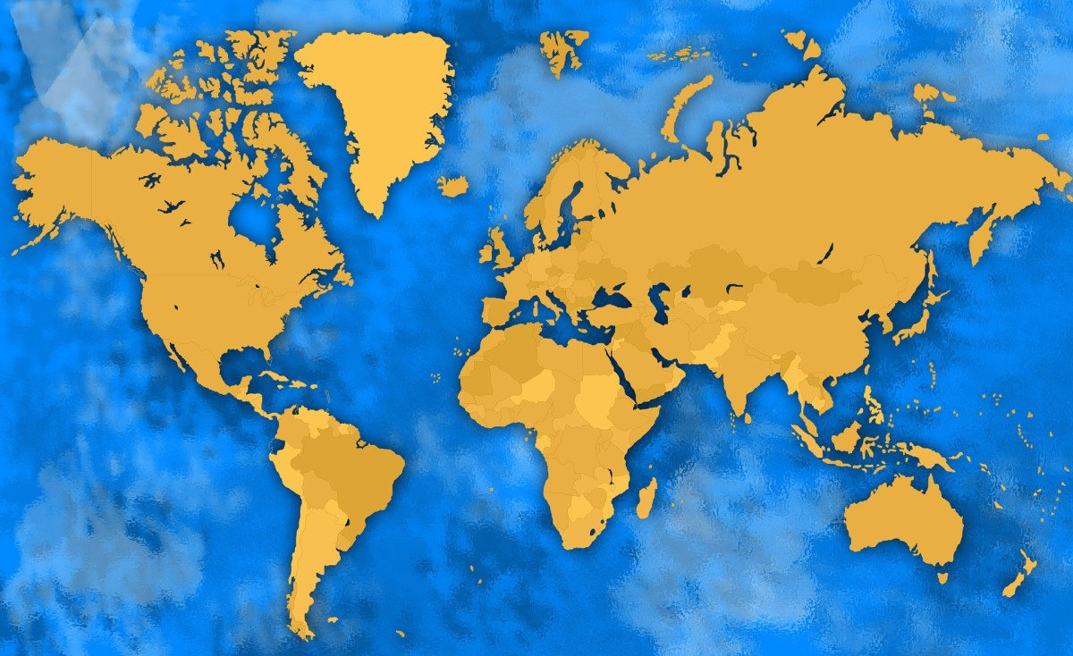 """On the website """"Fiverr"""" that I mainly use to offer my freelance writing services, each seller is provided with what is called a """"World Domination"""" map that shows you every country that you have sold gigs to, and the number."""