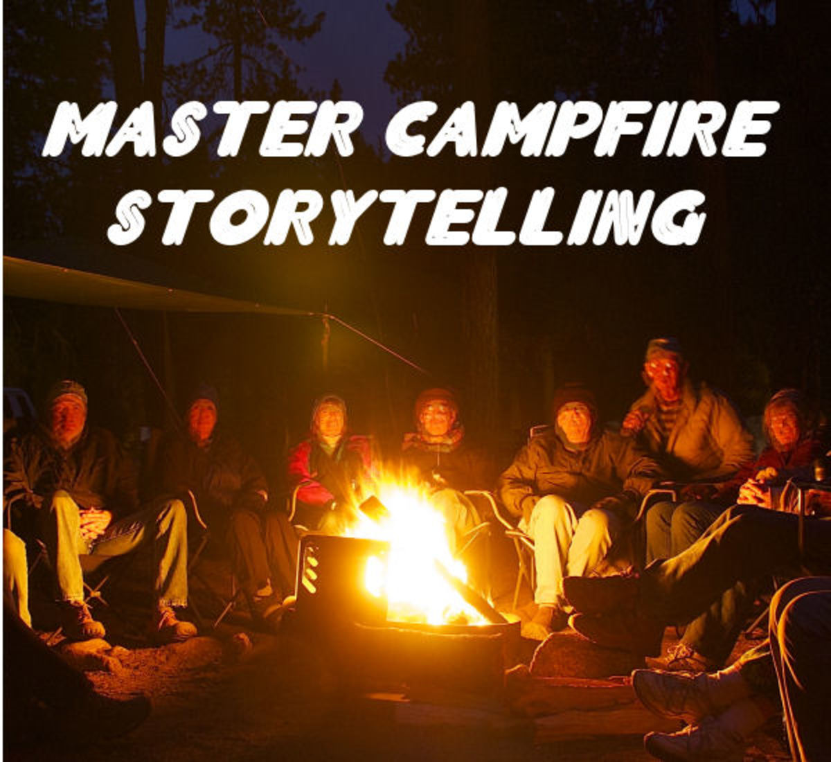 The tradition of campfire storytelling