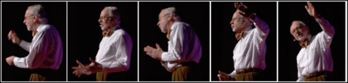 讲故事的艺术 - 手和肢体语言示例